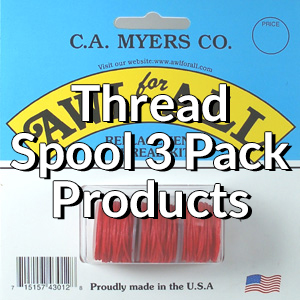 Thread Spool 3 Packs